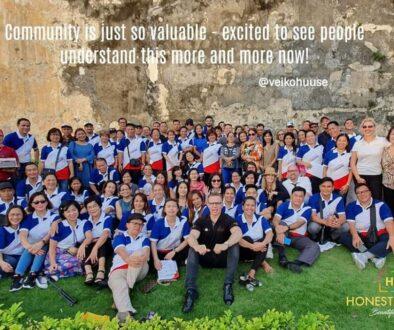 Over 160 Key Leaders Honestum Est meeting @Macau July 2019