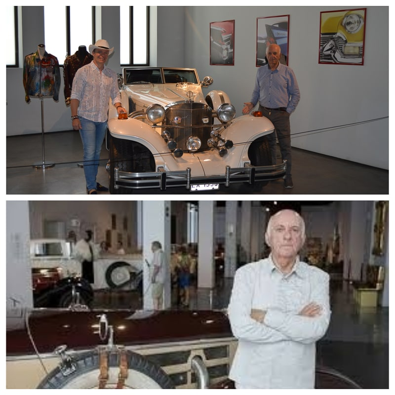 Joao Manuel Magalhaes Successful international businessman, investor, collector, millionaire. It owns one of the largest, most unique collections of old cars in the world. The value is in the hundreds of millions.
