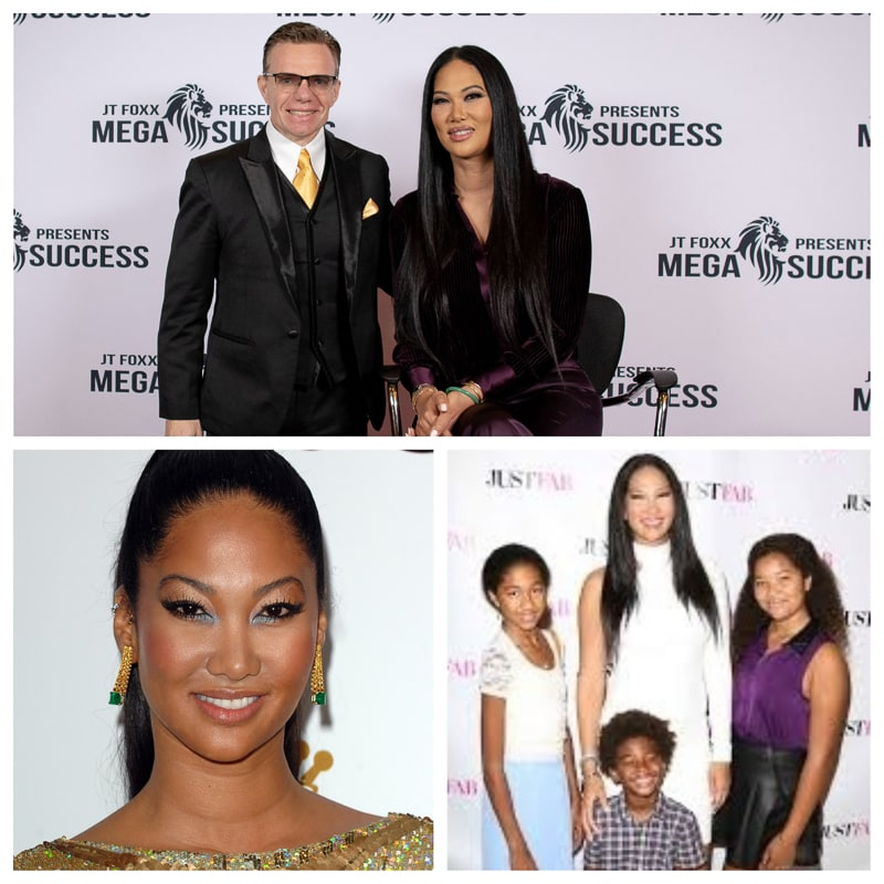 Kimora Lee Simmons  She is a leading businesswoman, venture investor, entrepreneur, fashion designer, TV personality, author, TONY winner, philanthropist and model. She has three kids.