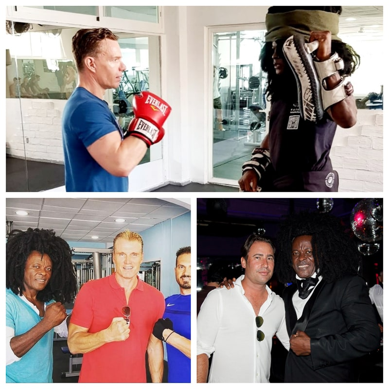 Boniface Dillys He's from the Bahamas. He is a famous private fitness coach. He is a celebrity in the Spanish resort town of Marbella. He is a legend, businessman, PR celebrity, health and nutrition consultant, private fitness coach.