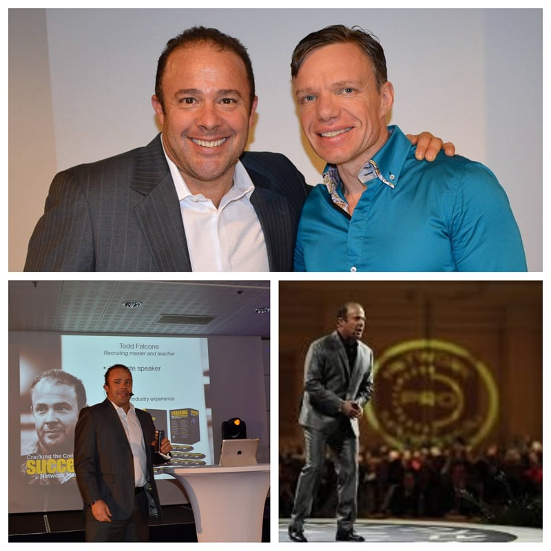 Todd Falcone  International Network Marketing coach, businessman, author of books.