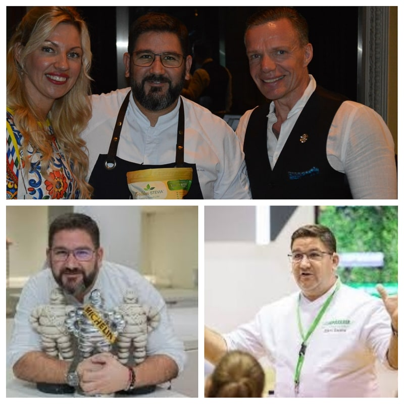 Michelin Chef Dani Garcia Celebrity 3 Star Michelin Chef, restaurants owner, businessman, global coach.